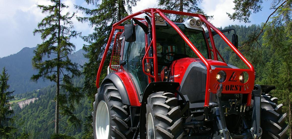 Gozdarske nadgradnje traktorjev