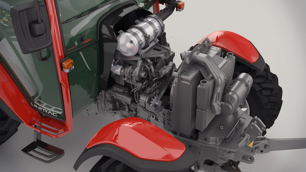 Lintrac 90 motor